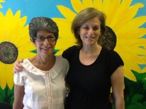 SunflowerBakery Sara PortmanMilner (L) Laurie Wexler (R)